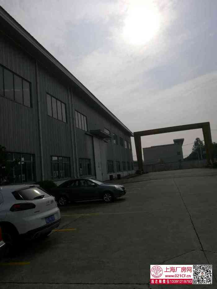 G1699 浦东宣桥镇三灶工业园区内6000平方米 单层带行车厂房出租 3000平起租