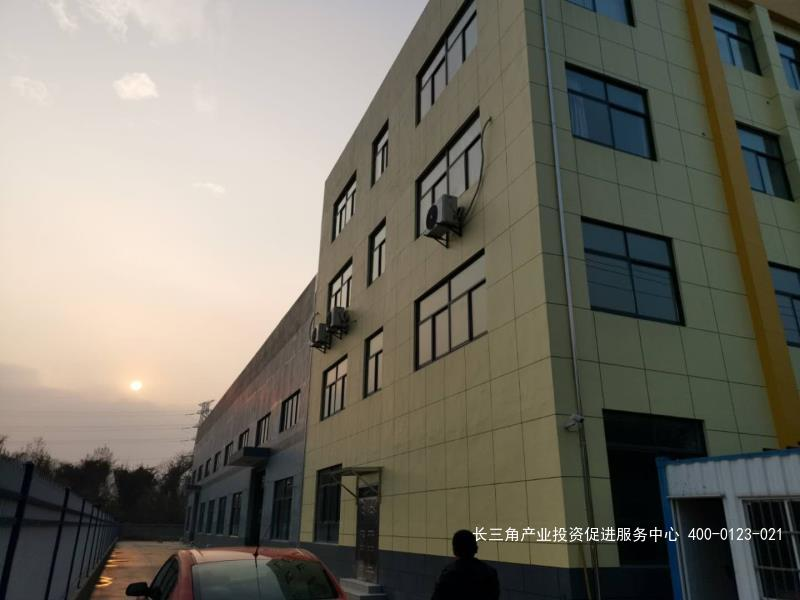 G2295 南京高淳经济开发区 独门独院 1200平单层可装行车厂房  1000平三层楼办公楼 整体出租