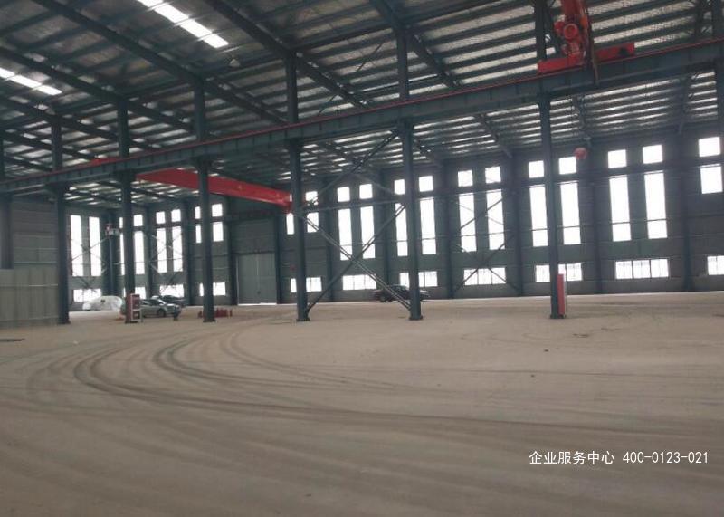 G2424南京边安徽滁州来安县 独门独院单层机械厂房出租 1万平 3300平起租 有行车