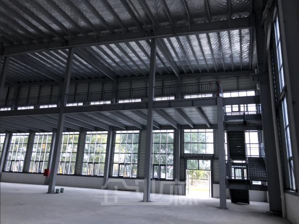 G2517 马鞍山含山县工业园区内大量工业厂房出租 面积大小均有 可分割出租 带行车 7元/月/平起