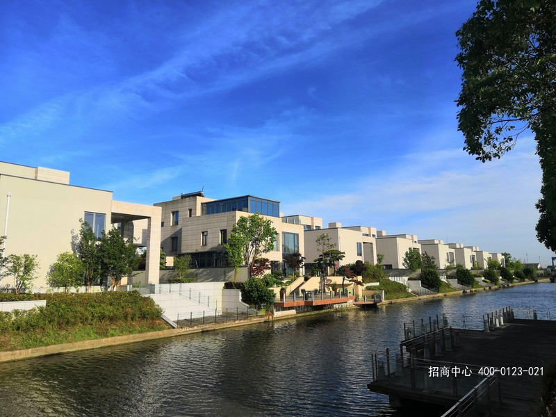 G2560  浦东南汇宣桥镇 南芦公路 毗邻上海迪斯尼乐园 上河商务园 独栋630-680平 商务办公楼出售 1.75万/平