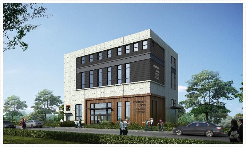 G2602 南京江北智荟港 新建独栋、双拼、分层标准化厂房  400平起出售  研发办公组装电商适用