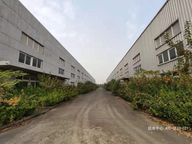 G2623 青浦工业区17号线赵巷站1公里 71亩工业用地9000单层厂房整体转让出售
