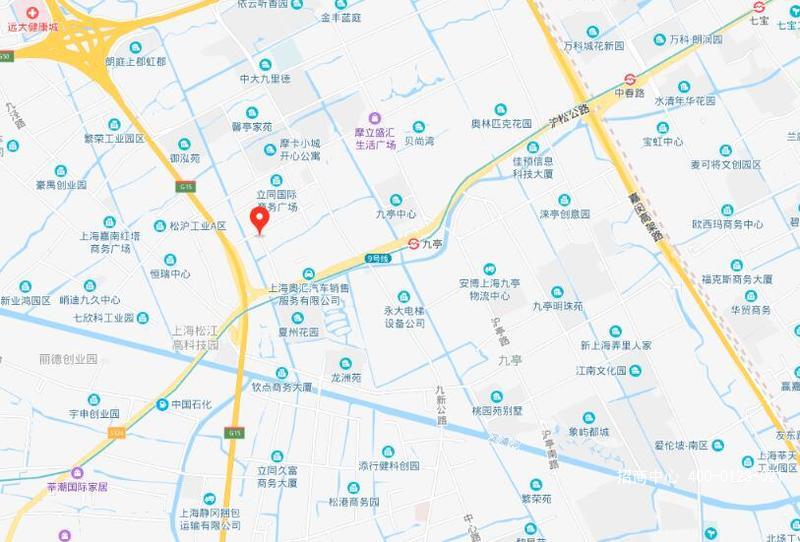 G2622 松江九亭茂联路九亭地铁站附近 3650平方米 独栋独门独院 厂房研发办公楼出租 可分租