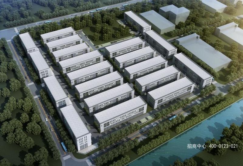G2640 江苏常州新北区 西夏墅工具智造小镇 独栋花园式厂房出售 1200平起 低总价