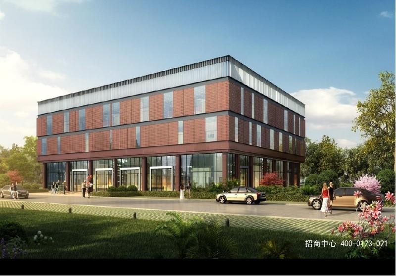 G2645宝湾南京浦口智造园 江北新区浦口经济开发区 独栋小面积厂房办公楼出售 均价5500元 390平方米起售
