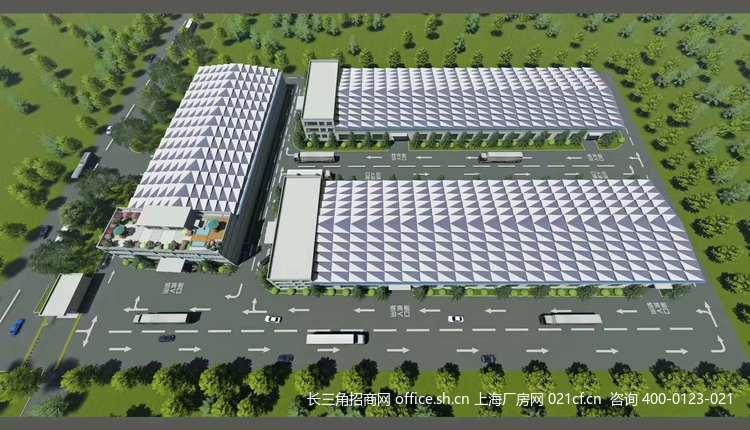 G2683上海青浦工业园区独门独院标准火车头厂房 可分割出租 天然气 104地块
