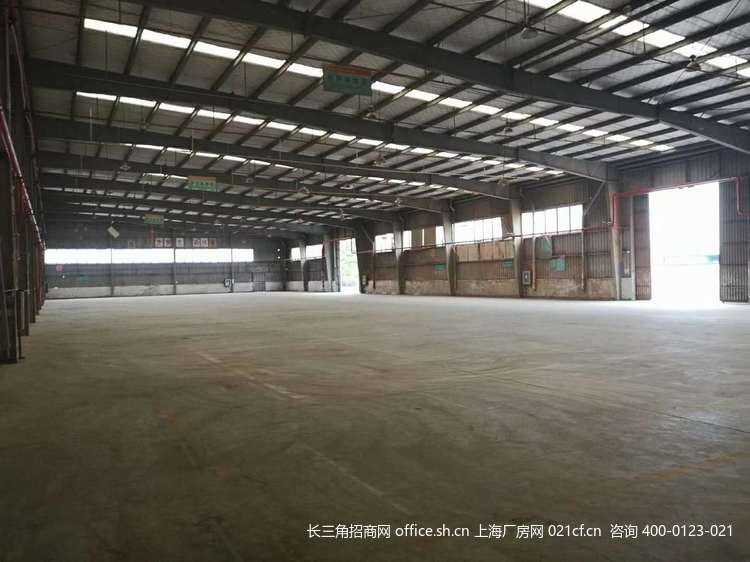 G2692 奉贤区青村104地块  底楼 和二楼厂房出租 500平起出租 总面积7000平 0.75元起