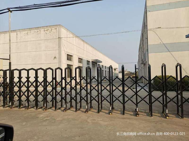 G2721上海松江工业区沪松公路边 独门独院4500平 厂房出售 104板块 4栋全单层 火车头