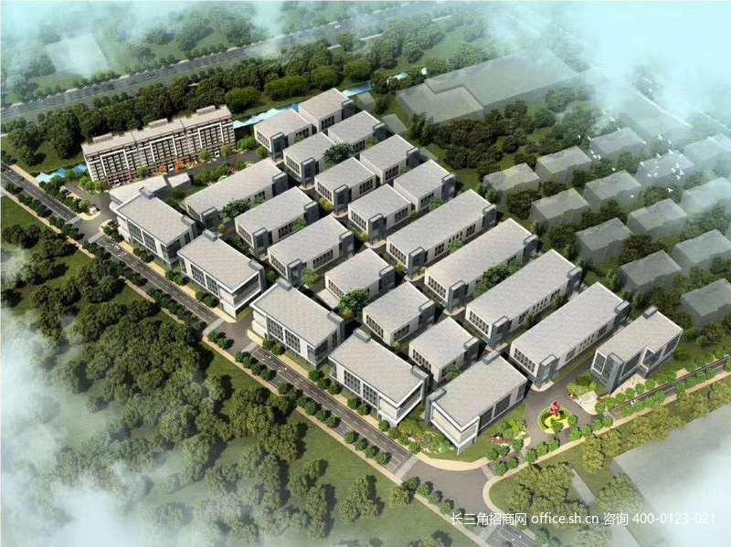 G2740上海松江新桥车墩之间万焜科创园二期 104工业厂房出售 独栋三层 1700-4600平可选
