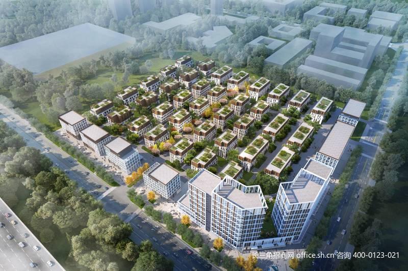 G2745 上海松江佘山智地产业园 开发商直招 无中介费 厂房出售 研发楼出售 1500平起/栋
