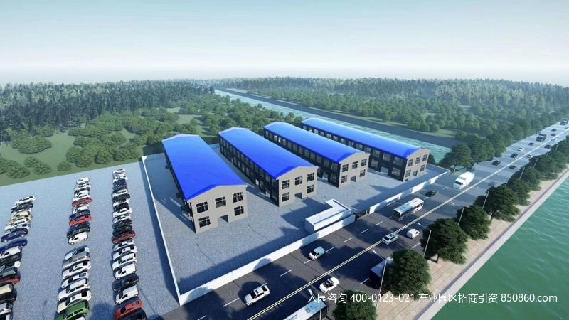 G2753 上海松江泗泾工业区9号线地铁旁104地块 4栋1000平左右单层厂房 独栋出售 独立产证