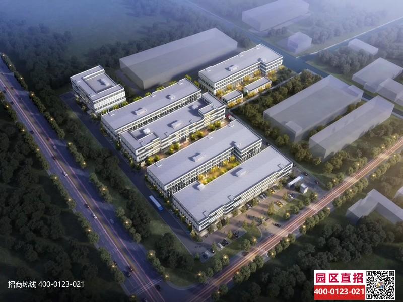 G2786上海边上嘉兴平湖新埭张江长三角科技城独栋标准厂房出售 独栋三层 1785平,2950平,2369平 金山枫泾对面4900元起