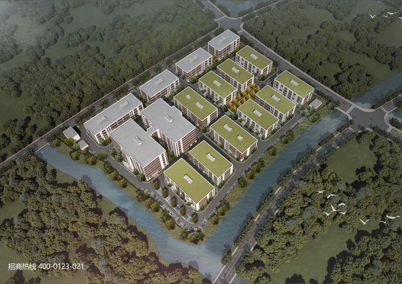 G2807 苏州常熟董浜现代智造产业园标准独栋厂房出售 3层独栋1100平 1500平 1800平 4200元起 可谈