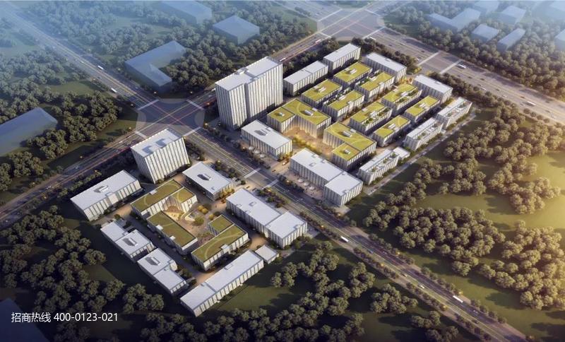 中南高科·西安高新产业智造中心 陕西西安高新区厂房研发办公楼出售