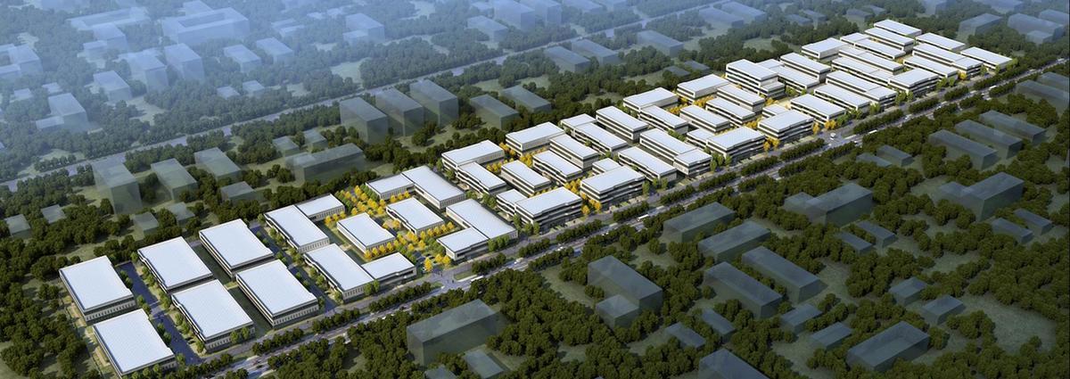 中南高科·宜兴创智绿谷 无锡宜兴和桥镇独栋、多拼厂房出售 三层1500平起 厂房适合 价格好谈
