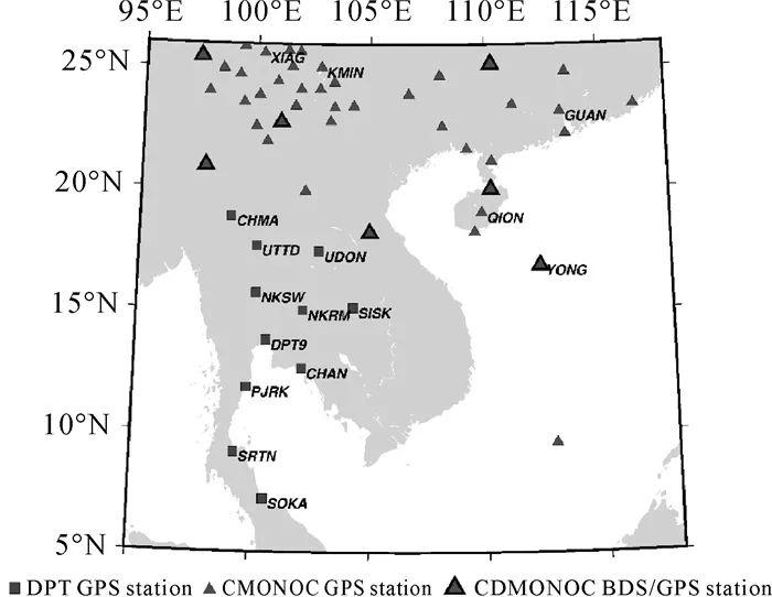 学术交流 基于北斗GNSS的中国-中南半岛地区大气水汽气候特征及同降水的相关分析